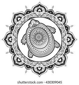 Mandala Turtle High Res Stock Images Shutterstock