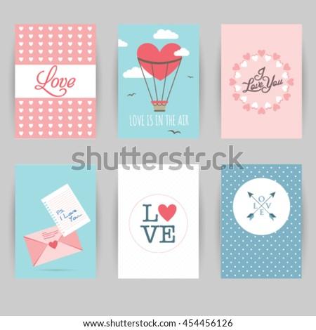 Greeting card banner love invitation card stock vector royalty free greeting card banner love invitation card love heart arrow letter m4hsunfo