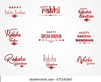 picture about Raksha Bandhan Printable Cards known as Joyful Raksha Bandhan Pics, Inventory Shots Vectors