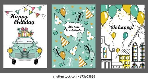 Happy Birthday Car Images Stock Photos Vectors Shutterstock