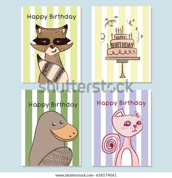 I Love Platypus Greeting Card Birthday Card