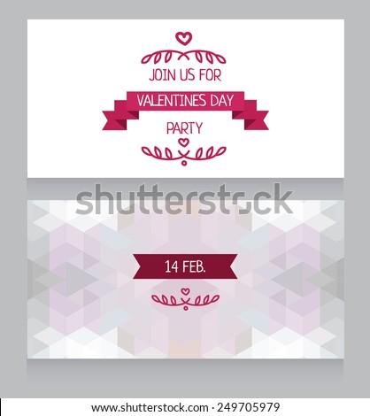Greeting Cards Valentines Day Invitation Valentines