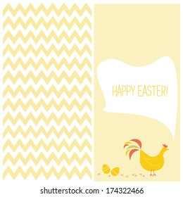 Greeting easter day flayers,  vector