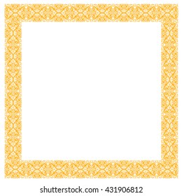 greeting frame card floral ornament deco diploma