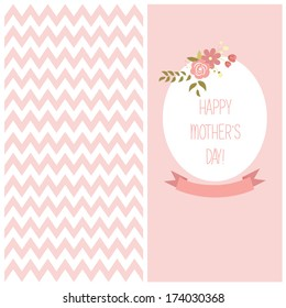 Greeting Mother's day flaers,  vector