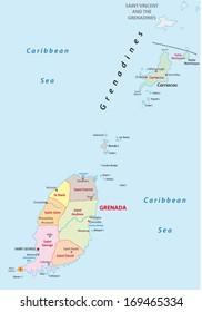 Grenada Map Images Stock Photos Vectors Shutterstock