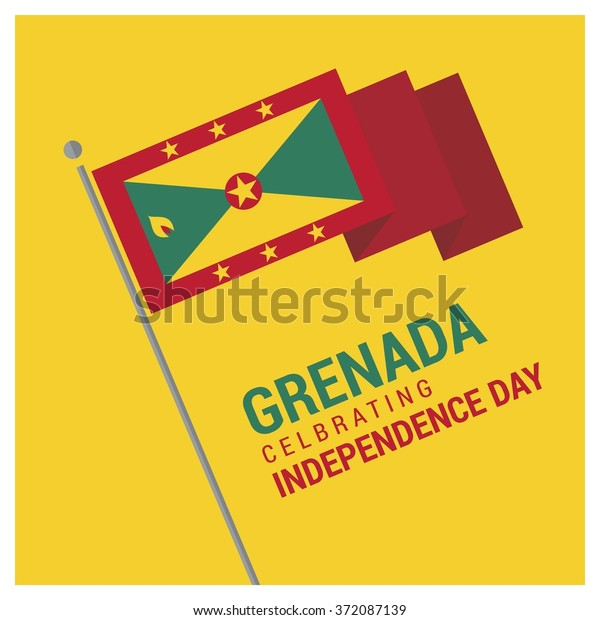 Grenada Independence Day Stock Vector (Royalty Free) 372087139