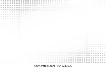 grey abstract background. vector design Halftone concept. Decorative web layout or poster, banner.