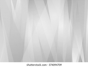 Grey abstract tech striped background. Vector design illustration template