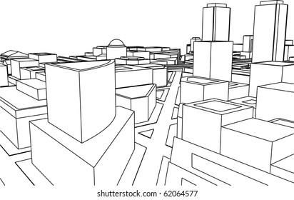 Grey city