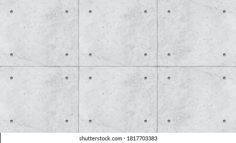 grey color concrete wall panels with holes