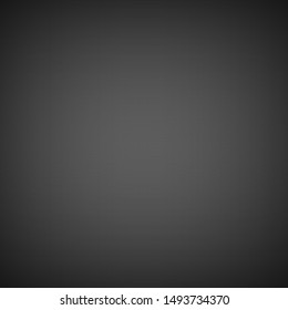 Grey gradient blurred abstract studio vector background
