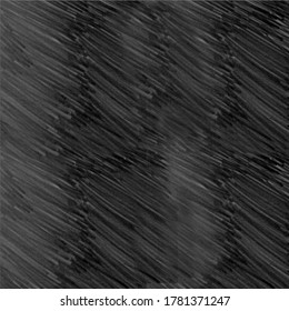 Grey, gray light sketch, doodle lines, stripes, raindrops, water, in black background, in the night. Abstract vector illustration, usable for backdrop, background, texture and for wallpaper. Colorless