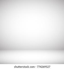 Grey light studio spotlight abstract background