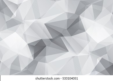 Grey modern geometrical abstract background. Triangular backdrop. Dark wallpaper. geometric texture. trendy pattern. creative concept. vector illustration for booklet, cover, magazine, banner,