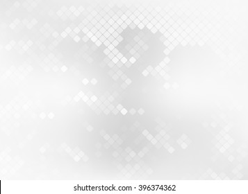 grey mosaic tile pale background vector web