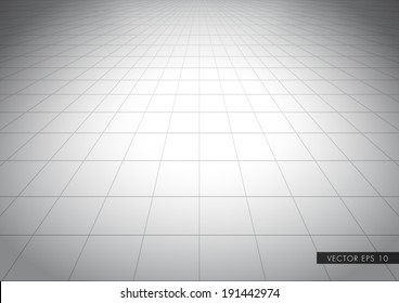 Grey net glossy floor - beautiful vector background