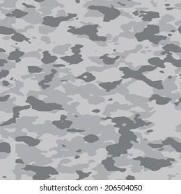 Grey urban seamless camouflage texture vector. 200+ camo textures in my portfolio.
