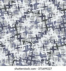 Grey urban seamless camouflage texture vector