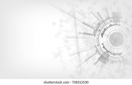 grey & white light modern technology electric abstract background. Vector graphic design EPS10.for creative banner, poster, template website,book