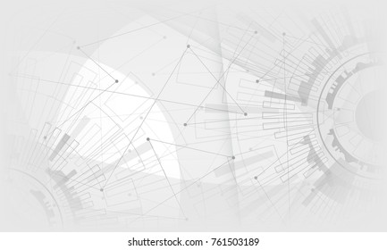 grey& white light modern technology electric abstract background. Vector graphic design.for creative banner, poster, template website,book