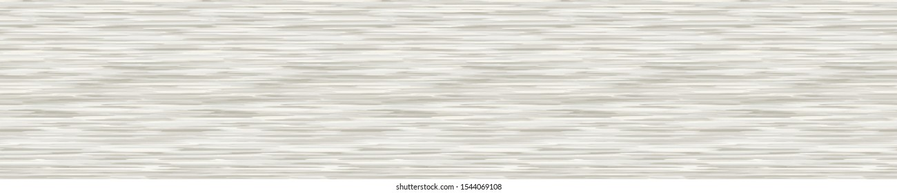 Grey White Marl Variegated Heather Texture Border Background. Vertical Blended Line Seamless Pattern. Faux T-Shirt Fabric Dyed Organic Jersey Textile Banner. Triblend Melange Ribbon Trim Vector Eps 10