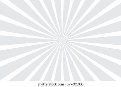 grey white radial starburst background vector illustration
