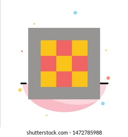 Grid, Graph, Drawing, area, software Abstract Flat Color Icon Template