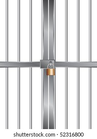 grid with lock