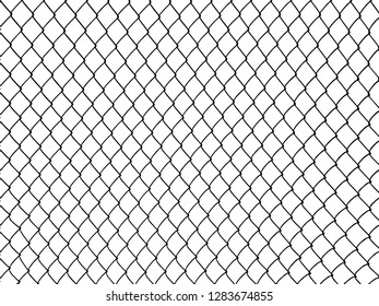 Grid metal chain-link. Vector background.cage.chain