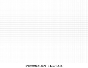 Grid on a white background. Paper for taking notes.Seamless square pattern.