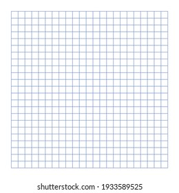 Grid paper. Abstract squared background with color graph. Geometric pattern for school, wallpaper, textures, notebook. Lined blank on transparent background.