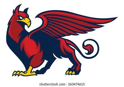 griffin creature mascot
