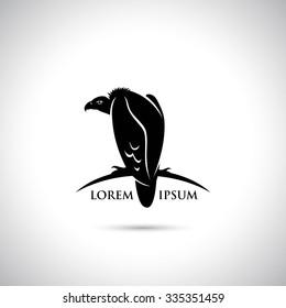 Griffon vulture symbol - vector illustration