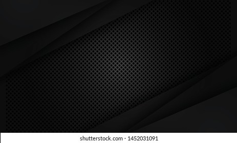 Grill dark and metallic sheet abstract background