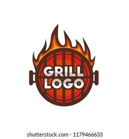 Grill logo Design