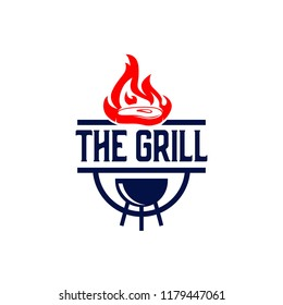 Grill Logo Template
