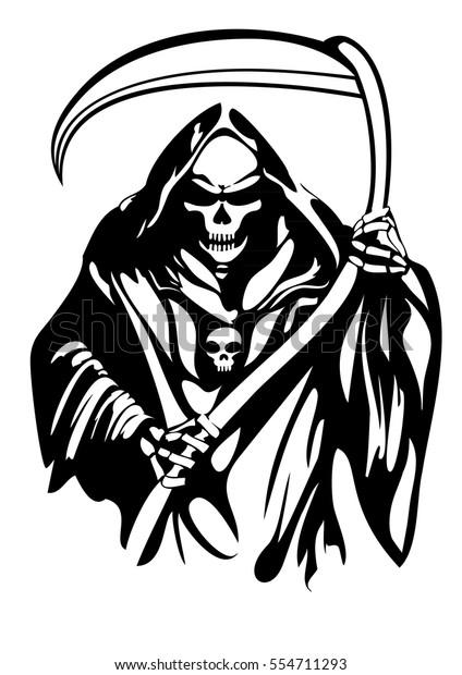 Grim Reaper Art Drawing