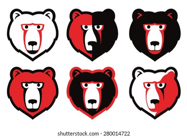Grizzly bear mascot idea