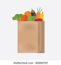 Grocery bag.