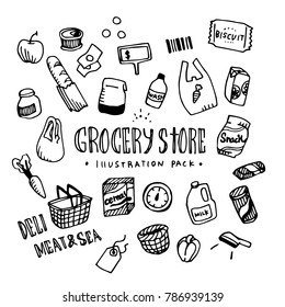 Grocery Illustration Pack