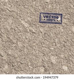 Ground texture in vector