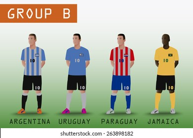 Group B for American Soccer