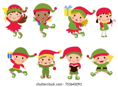 Group of elf