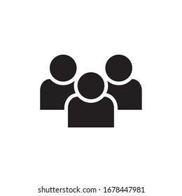 GROUP ICON , PARTNERSHIP ICON VECTOR