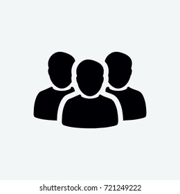 group icon vector