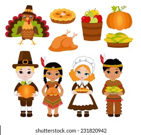 pilgrims and indians images stock photos vectors shutterstock rh shutterstock com pilgrim and indian clipart Feast Clip Art