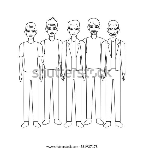 group of men icon