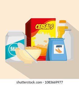 group of nutritive food icons - Shutterstock ID 1083669977