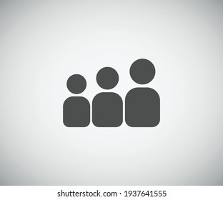 group of people concept icon